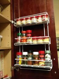 Cabinet Door Mounted Spice Rack Kitchen Cabinet Door Storage Racks Spice Rack Cabinet Door