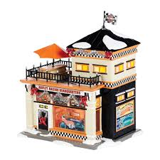4036563 harley racing headquarters department 56 lighted building