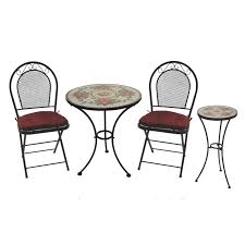 Wrought Iron Cafe Set by Iron Bistro Table Set Patio Chairs Wrought Iron Patio Chairs
