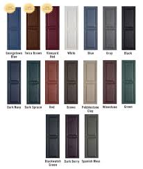 Spray Paint Vinyl Shutters - shutters colors my new house coming soon pinterest shutter