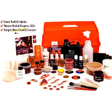 professional special effects makeup kits ben nye professional moulage casualty simulation kit stage