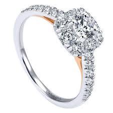 cushion halo engagement rings 14k white gold 86cttw blush cushion halo engagement ring