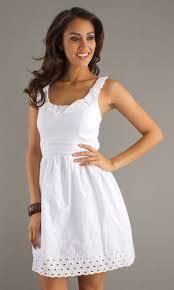 white summer dress white casual summer dresses