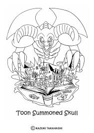 toon summoned skull coloring page you can choose more coloring
