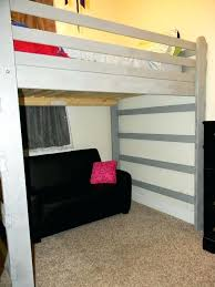 Loft Bed Plans Free Queen by Queen Loft Bed Frame U2013 Tappy Co