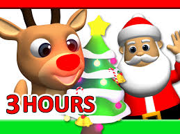 songs 3 hours rudolf santa claus frosty more