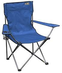 amazon com quik chair folding quad mesh camp chair blue