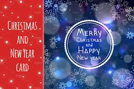 new years greeting card christmas and new year greeting card card templates creative