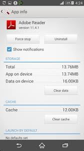 android how to clear cache how to clear cache and data for a specific app in android