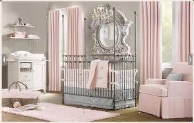 Pink And Grey Nursery Decor Ba Nursery Decor Bedroom Home Chandelier For Popular Baby Room