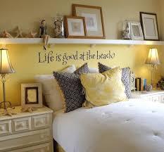 Diy Beach Theme Decor - awesome above the bed beach themed decor ideas beach quotes