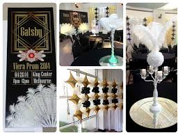 great gatsby centerpieces melbourne fl event decorating viera high s gatsby prom 2014