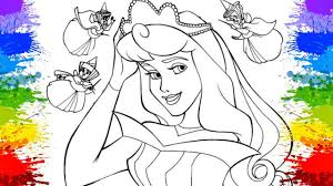 colouring book kids princess aurora coloring crayola art