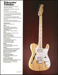 the telecaster in the 1970s fender guitarchive