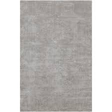 Home Depot Wool Area Rugs Surya Candice Olson Blue Gray 4 Ft X 6 Ft Area Rug Lmn3005 46