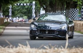 maserati 2017 granturismo 2018 maserati granturismo and grancabrio star at goodwood festival