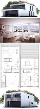 modern contemporary house floor plans 26 best small narrow plot house plans images on pinterest small