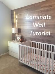 Laminate Flooring On Walls Laminate Accent Wall Tutorial Every Year Gets Better