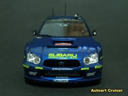 subaru autoart autoart cruiser my work on tamiya 1 24 scale subaru wrc rally car