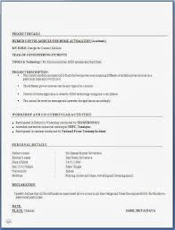 curriculum vitae format for freshers pdf resume format for freshers mechanical engineers pdf free download