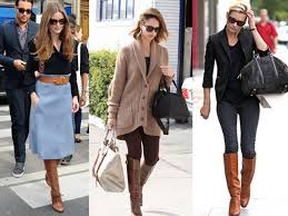 what to wear with light brown boots 18 celebs show us what to wear with brown boots brown beige boots