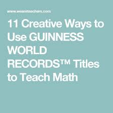 36 best education and kids images on pinterest guinness world