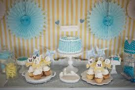 Boy Birthday Decorations Kara U0027s Party Ideas Vintage Yellow And Blue Birthday Party Planning