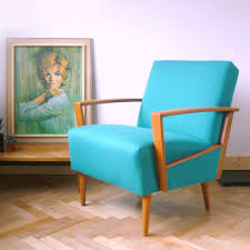 Vintage Armchair Design Ideas Teal Retro Armchair From Drab To Dreamy Florrie Bill