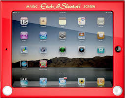 is the official etch a sketch case for ipad the coolest case there