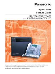 download install manual kx tda100 docshare tips