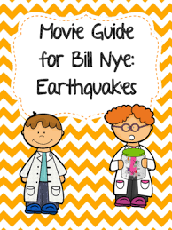 video worksheet movie guide for bill nye earthquakes