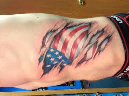 Ripped American Flag Tattoo Lets See Everyone U0027s Tattoos