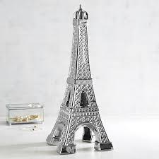 silver ceramic eiffel tower pier 1 imports