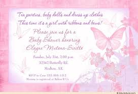 butterfly baby shower invitations