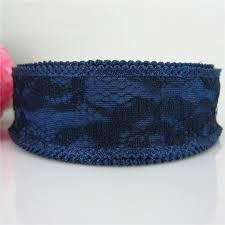 navy lace ribbon 20yards 1 25mm navy lace ribbon polyester ribbon for craft