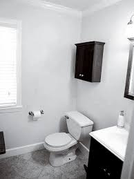 Plain Bathrooms Small Guest Bathroom Makeover