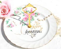 25th anniversary plates vintage japan crafted norcrest 25th anniversary plates vintage
