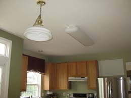 Kitchen Fluorescent Light Fittings Wonderful Kitchen Fluorescent Light Fixture For Interior