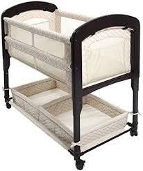 Bassinet That Hooks To Bed Amazon Com Arm U0027s Reach Concepts Cambria Co Sleeper Bassinet