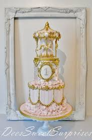 carousel cake topper 1st birthday carousel cake cake by cakesdecor