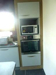 meuble micro onde cuisine meuble cuisine colonne four micro onde awesome colonne four cuisine