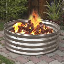 48 Inch Fire Pit by 42x18 Fire Pit Ring Standish Milling