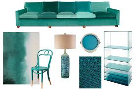 decorating with teal the color people love to wsj