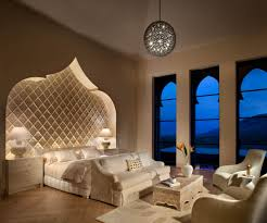 bedroom contemporary moroccan bedroom ideas with off white