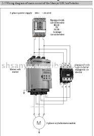 motor starter circuit diagram wiring diagram components
