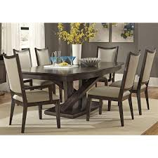 Pds Upholstery Liberty Furniture Southpark Contemporary 7 Piece Dining Set