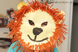 lion mask craft lion mask craft