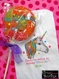 Birthday Favor Bags by Unicorn Birthday Unicorn Favor Bags Unicorn Bags