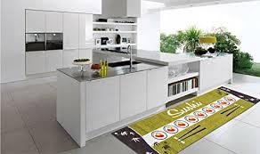 tappeti per cucine tappeto passatoia cucina verde stile asiatico giapponese kitch