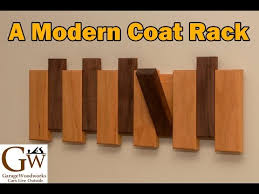 a modern coat rack youtube similar to the